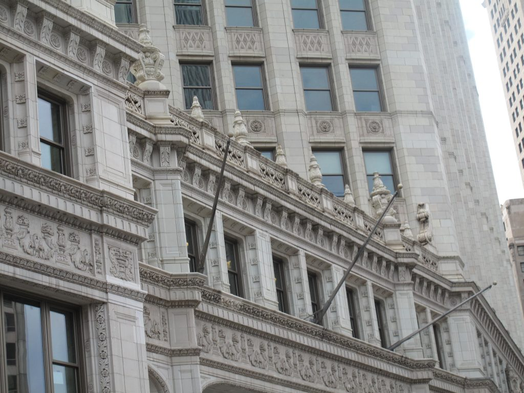 A historic building in Chicago