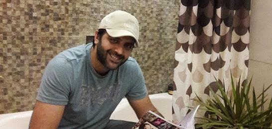 Hasan Ahmed at home