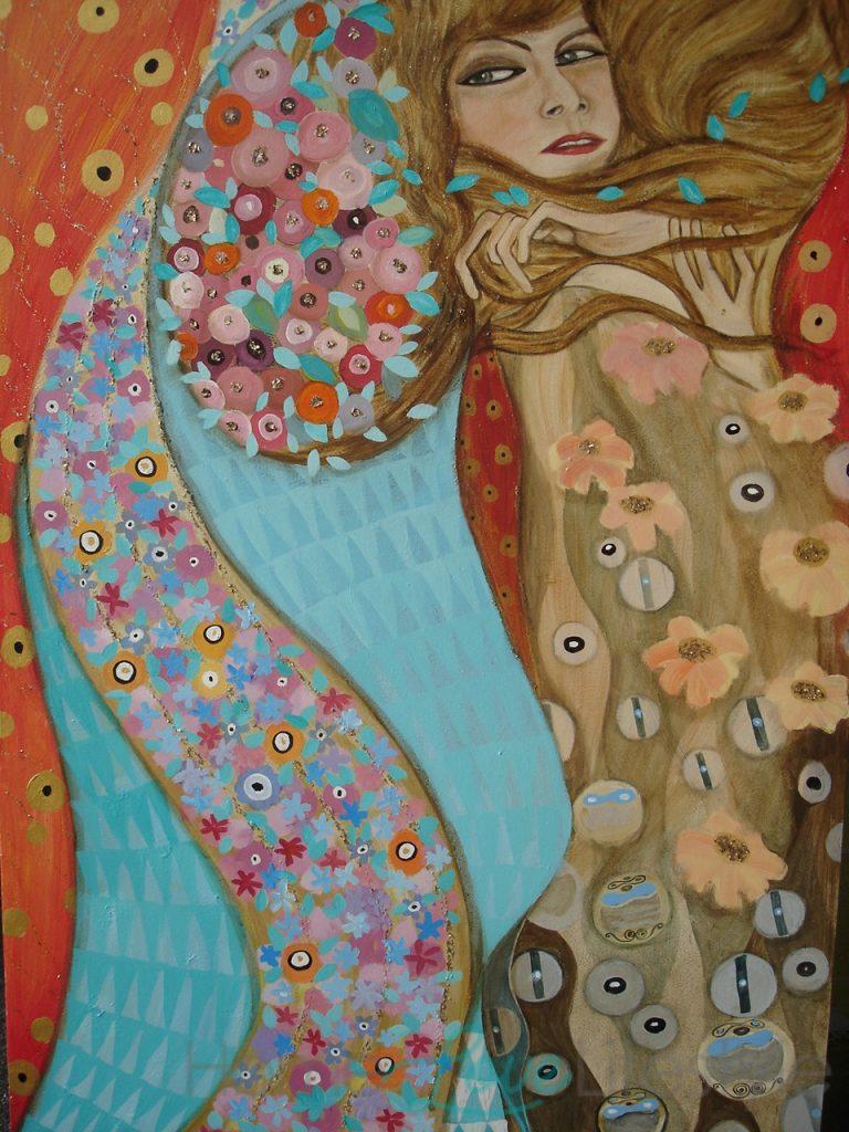 Mural by Farhee Chundrigar