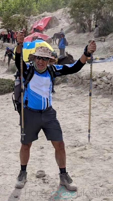 Mazhar Valjee on K2 Trek