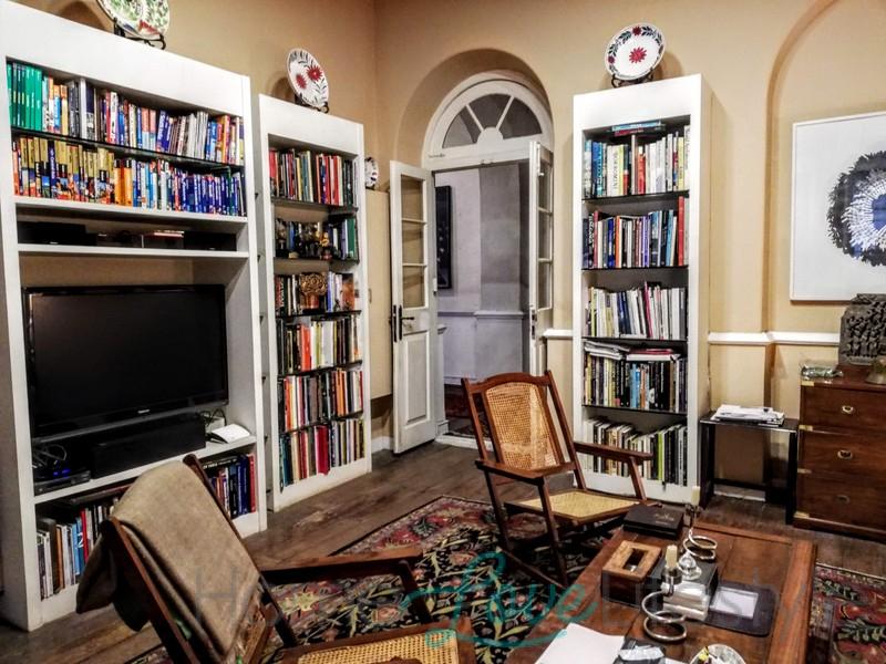 Habib Fida Ali House study interiors karachi